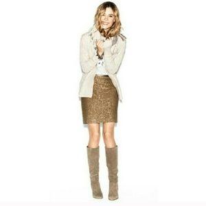 NWOT LOFT sequins women's mini skirt